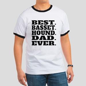 Best Basset Hound Dad Ever T-Shirt