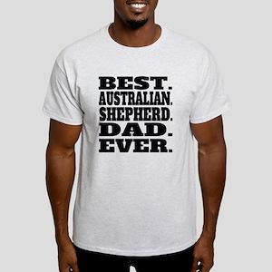 Best Australian Shepherd Dad Ever T-Shirt