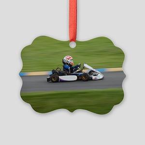 Kart Racer Ornament