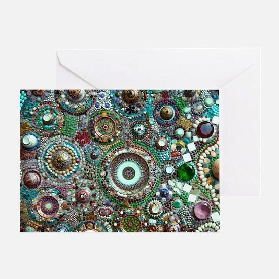 Cute Mosaic Greeting Card