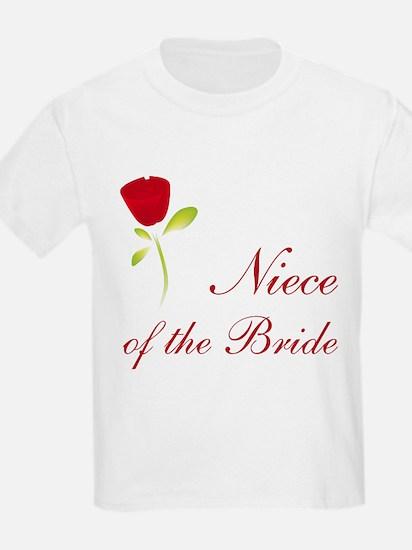 Red Bride's Niece T-Shirt