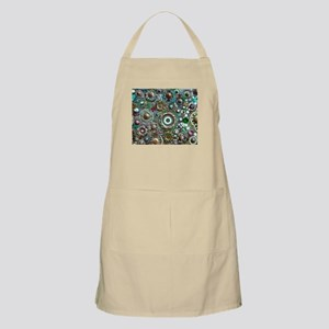 Colorful Crystal Mosaic Geometric Design Apron