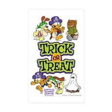Trick Or Treat Sticker