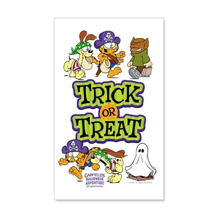 Trick Or Treat Wall Decal