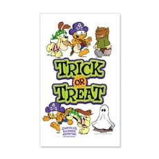 Trick Or Treat 20x12 Wall Decal
