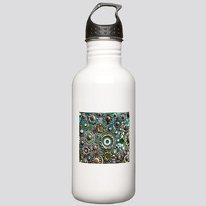 Colorful Crystal Mosai Stainless Water Bottle 1.0L
