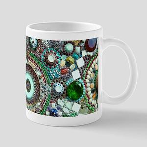 Colorful Crystal Mosaic Geometric Design Mugs
