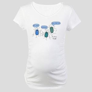 Proteus mirabilis Maternity T-Shirt
