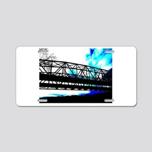 Bridge to Heaven Aluminum License Plate