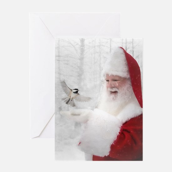 Santas Enchanted Forest Greeting Cards