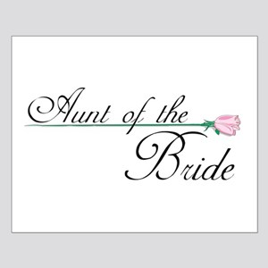 Elegant Aunt of the Bride Small Poster