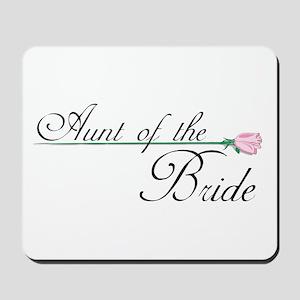 Elegant Aunt of the Bride Mousepad
