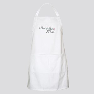 Elegant Aunt of the Bride BBQ Apron