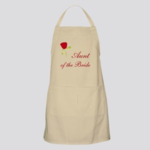 Red Bride's Aunt BBQ Apron