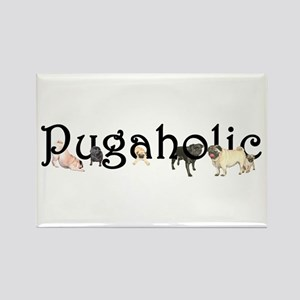 Pugaholic Magnets