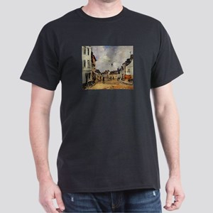 Eugene Boudin - Fervaques, the Main Street T-Shirt