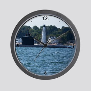 Boat & Lighthouse Homecoming Wall Clock