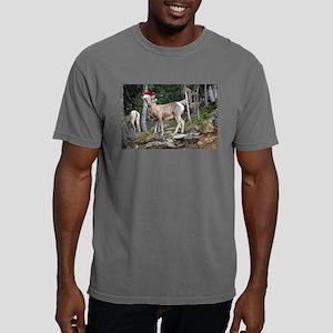 Christmas Mountain Goats Mens Comfort Colors Shirt
