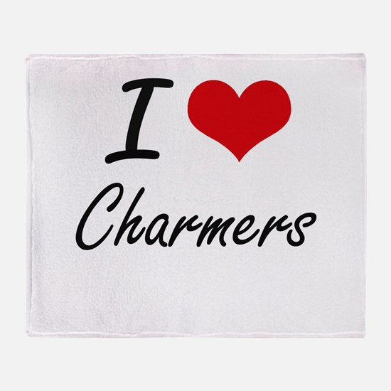 I love Charmers Artistic Design Throw Blanket