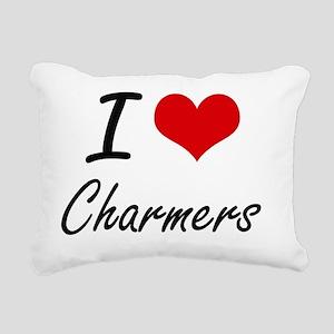 I love Charmers Artistic Rectangular Canvas Pillow