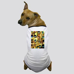 Peacocks, Dog T-Shirt