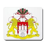 Hamburg Coat of Arms Mousepad