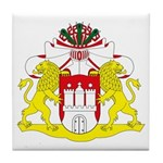 Hamburg Coat of Arms Tile Coaster