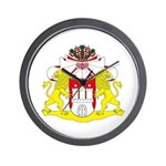 Hamburg Coat of Arms Wall Clock