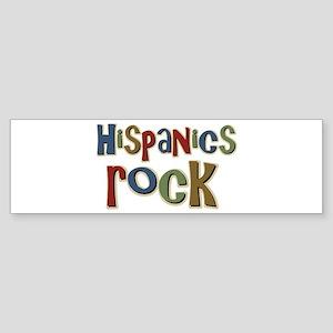 Hispanics Rock Latino Culture Bumper Sticker