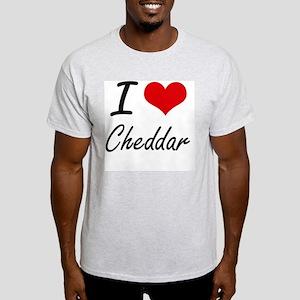 I love Cheddar Artistic Design T-Shirt