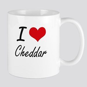 I love Cheddar Artistic Design Mugs