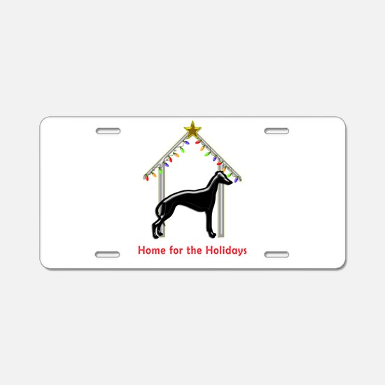 Forever Home for Greyhounds Aluminum License Plate