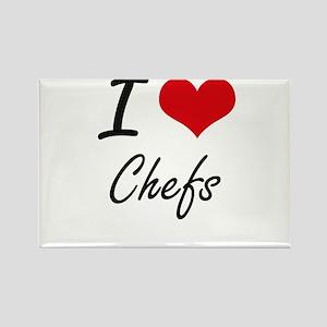 I love Chefs Artistic Design Magnets