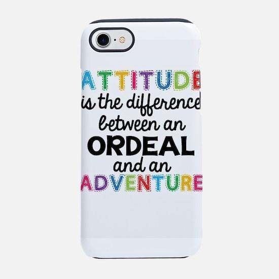 Positive Attitude iPhone 8/7 Tough Case