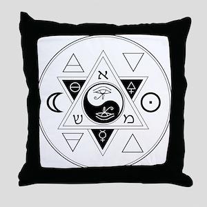 New Hermetics Seal Throw Pillow