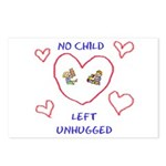No Child Left Unhugged Postcards (Package of 8)