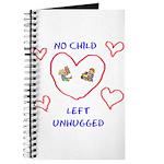 No Child Left Unhugged Journal