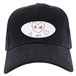 No Child Left Unhugged Black Cap