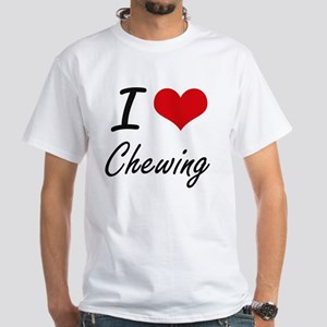 I love Chewing Artistic Design T-Shirt