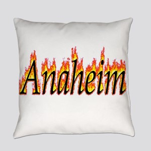 Anaheim Flame Everyday Pillow