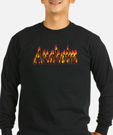 Anaheim Flame Long Sleeve T-Shirt