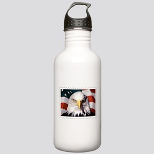 American Bald Eagle wi Stainless Water Bottle 1.0L