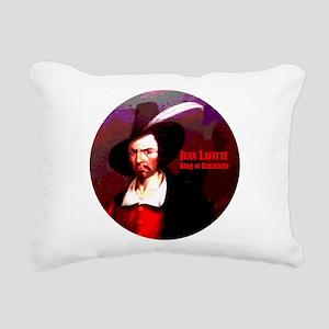 Jean Lafitte Rectangular Canvas Pillow