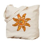 Radiant sun, I AM, awake Tote Bag