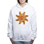 Radiant sun, I AM, awake Women's Hooded Sweatshirt