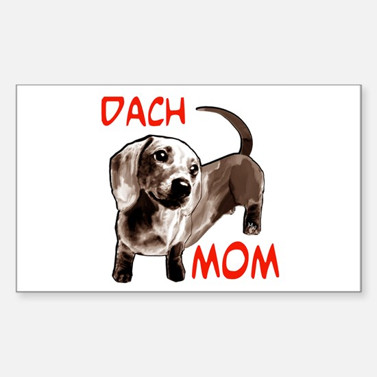 dach Rectangle Decal