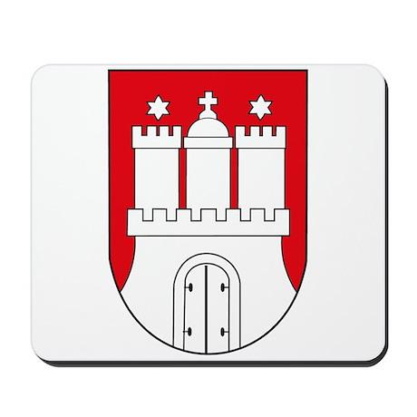 Hamburg Coat of Arms (small) Mousepad