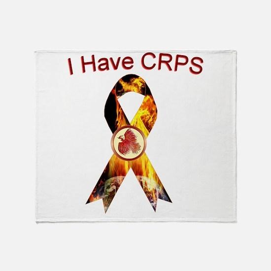 I have CRPS RSD World A Blaze Ribbon Throw Blanket