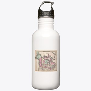 Vintage Map of Canada Stainless Water Bottle 1.0L