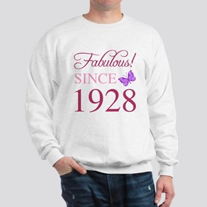 1928 Fabulous Birthday Sweatshirt